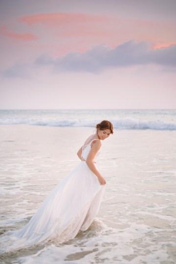 The Dreamiest Sunset Beach Wedding in Thailand   Darin Images 55