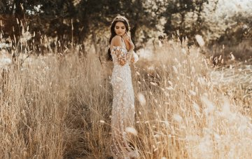 The Luxe Bohemian Spring 2018 Wedding Dress Collection from Tara Lauren