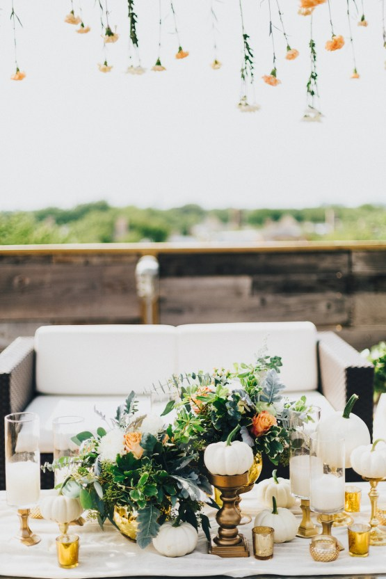 The Sweetest Autumnal Elopement Inspiration (On A Rooftop!) | Rachel Brown Kulp Photography 35
