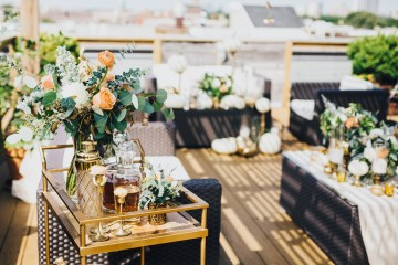 The Sweetest Autumnal Elopement Inspiration (On A Rooftop!) | Rachel Brown Kulp Photography 4