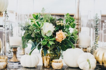 The Sweetest Autumnal Elopement Inspiration (On A Rooftop!) | Rachel Brown Kulp Photography 9