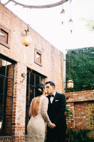Warm Winter Wedding in a Hidden Los Angeles Italian Villa | Amanda McKinnon 39