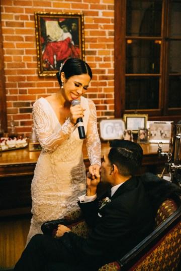Warm Winter Wedding in a Hidden Los Angeles Italian Villa | Amanda McKinnon 64