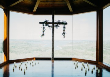 Boho Ozarks Wedding in an Magnificent Hilltop Chapel | Unveiled Radiance Photography 16
