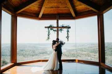 Boho Ozarks Wedding in an Magnificent Hilltop Chapel | Unveiled Radiance Photography 3