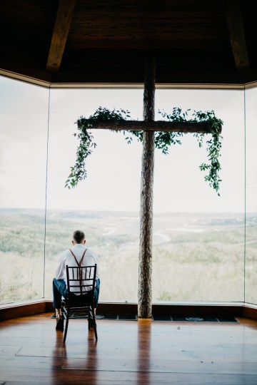 Boho Ozarks Wedding in an Magnificent Hilltop Chapel | Unveiled Radiance Photography 38