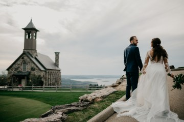 Boho Ozarks Wedding in an Magnificent Hilltop Chapel | Unveiled Radiance Photography 7