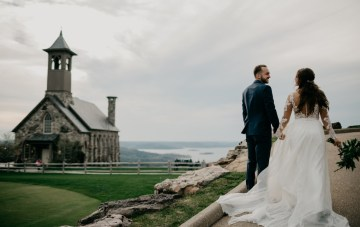 Boho Ozarks Wedding In A Magnificent Hilltop Chapel