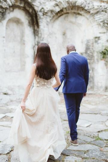 Calm, Ethereal & Romantic Lake Como Wedding Inspiration | Valentina Operandi 37