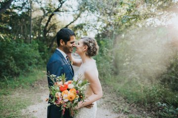 Colorful & Eclectic Americana Wedding in Texas | Amber Vickery Photography 16