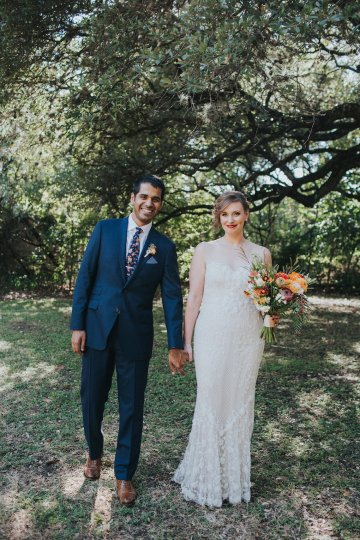 Colorful & Eclectic Americana Wedding in Texas | Amber Vickery Photography 37