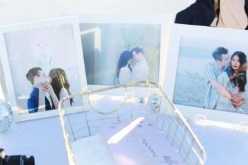 Colorful Rooftop Wedding With Geometric Modern Designs | Christian + Reinna Cruz 22