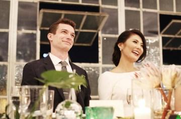 Colorful Rooftop Wedding With Geometric Modern Designs | Christian + Reinna Cruz 41