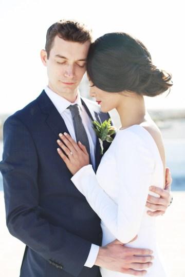 Colorful Rooftop Wedding With Geometric Modern Designs | Christian + Reinna Cruz 46
