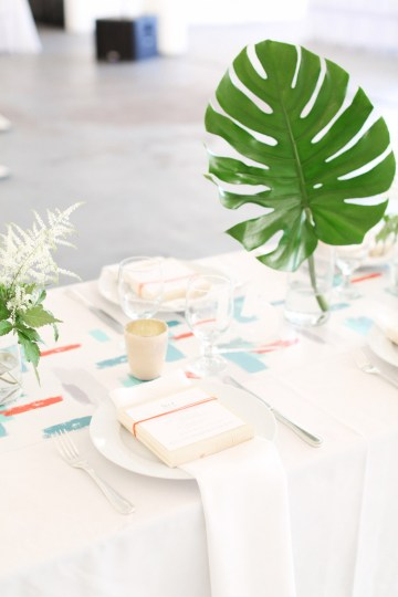 Colorful Rooftop Wedding With Geometric Modern Designs | Christian + Reinna Cruz 56