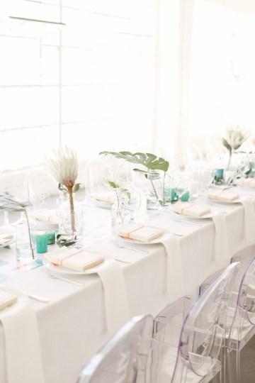 Colorful Rooftop Wedding With Geometric Modern Designs | Christian + Reinna Cruz 61