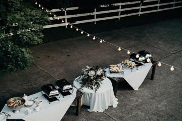 Cool Pampas Grass Wedding With Deep Berry Tones | Cedarwood Weddings 11