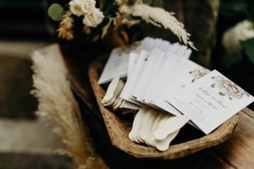 Cool Pampas Grass Wedding With Deep Berry Tones | Cedarwood Weddings 14