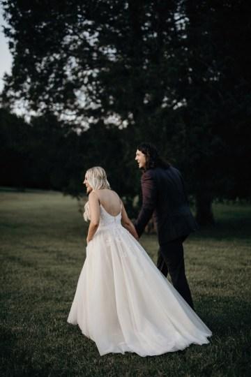 Cool Pampas Grass Wedding With Deep Berry Tones | Cedarwood Weddings 84