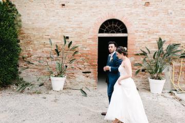 Dreamy Pink Wedding In France | Marion Heurteboust 11