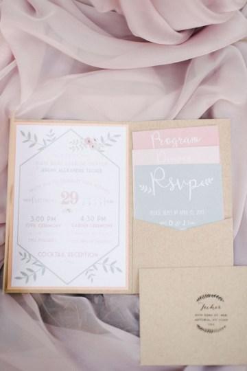 Dreamy Pink Wedding In France | Marion Heurteboust 16