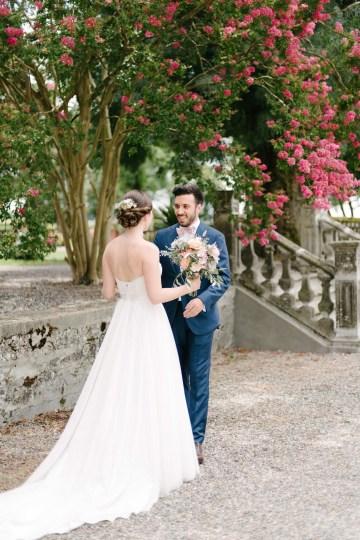 Dreamy Pink Wedding In France | Marion Heurteboust 27