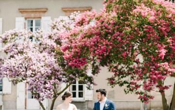 Dreamy Pink Wedding In France | Marion Heurteboust 30