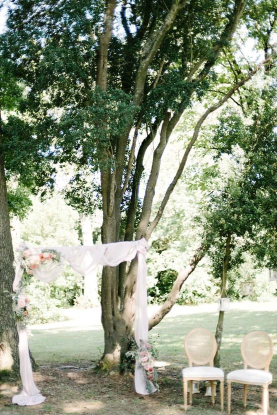 Dreamy Pink Wedding In France | Marion Heurteboust 36
