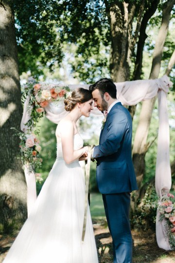 Dreamy Pink Wedding In France | Marion Heurteboust 42