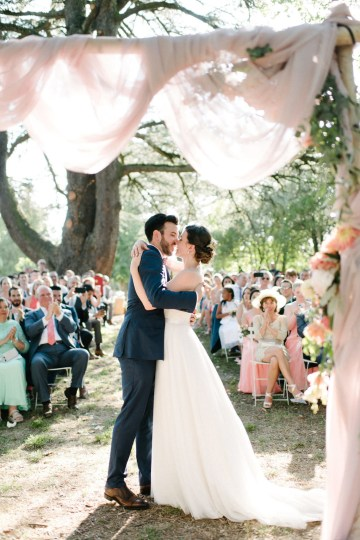 Dreamy Pink Wedding In France | Marion Heurteboust 44