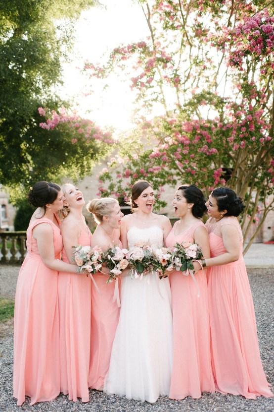 Dreamy Pink Wedding In France | Marion Heurteboust 45