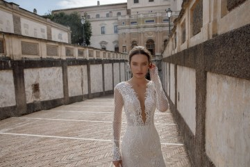 The Glamourous & Luxurious Ever After Wedding Dress Collection By Birenzweig 13