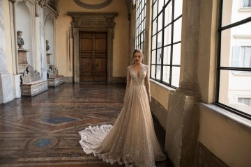 The Glamourous & Luxurious Ever After Wedding Dress Collection By Birenzweig 29