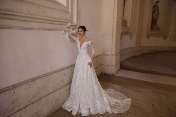 The Glamourous & Luxurious Ever After Wedding Dress Collection By Birenzweig 4