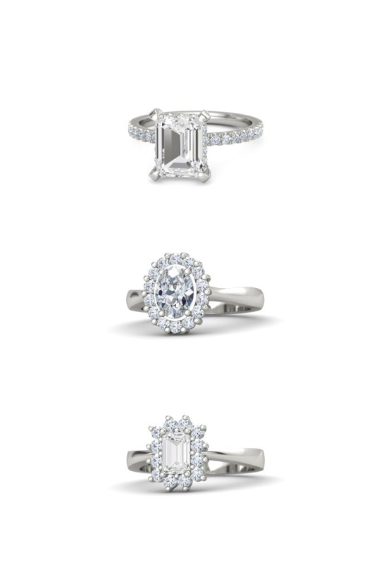Which Engagement Ring Fits Your Personal Style? | Glamorous Rings Gemvara