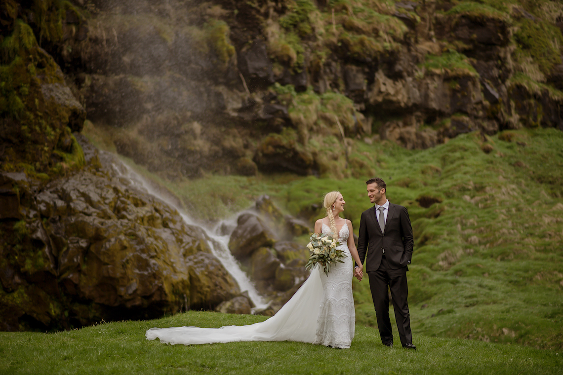 Adventurous Rainy Wedding In Iceland (With Waterfalls!) | Your Adventure Wedding 57