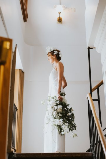 Cool Courthouse Wedding Inspiration Featuring A Bridal Jumpsuit | Rachel Birkhofer Photography 15