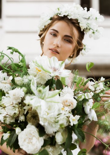 Cool Courthouse Wedding Inspiration Featuring A Bridal Jumpsuit | Rachel Birkhofer Photography 22