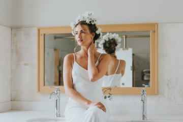Cool Courthouse Wedding Inspiration Featuring A Bridal Jumpsuit | Rachel Birkhofer Photography 32
