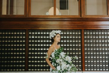 Cool Courthouse Wedding Inspiration Featuring A Bridal Jumpsuit | Rachel Birkhofer Photography 34