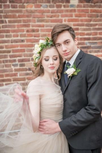 Gorgeous Buttercream & Ivory Wedding Inspiration | Anna + Mateo 12