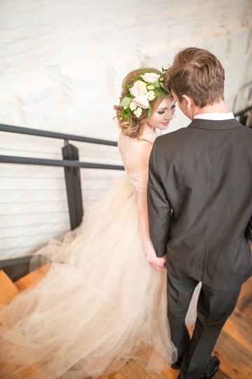 Gorgeous Buttercream & Ivory Wedding Inspiration | Anna + Mateo 37