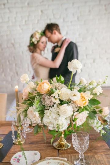 Gorgeous Buttercream & Ivory Wedding Inspiration | Anna + Mateo 8