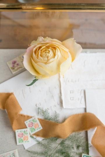 Gorgeous Buttercream & Ivory Wedding Inspiration | Anna + Mateo 9