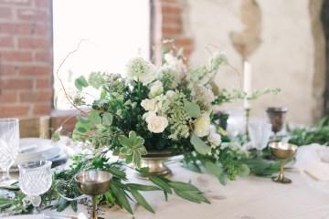 Luxurious Green & Gold Wedding Inspiration | Saje Photography 49