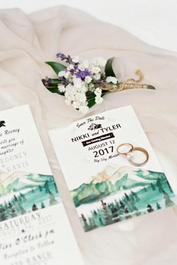 Rustic Montana Ranch Wedding | Emily Blumberg Photography 16