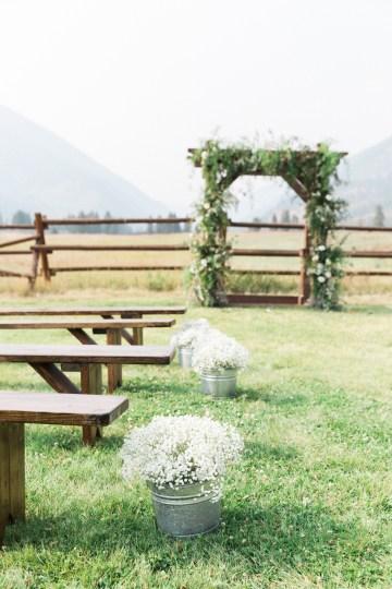 Rustic Montana Ranch Wedding | Emily Blumberg Photography 34