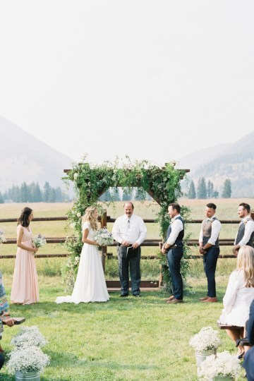 Rustic Montana Ranch Wedding | Emily Blumberg Photography 38