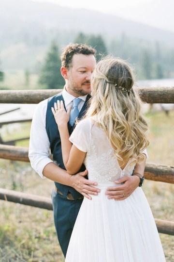 Rustic Montana Ranch Wedding | Emily Blumberg Photography 50