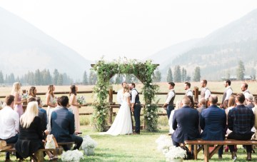 Rustic Montana Ranch Wedding